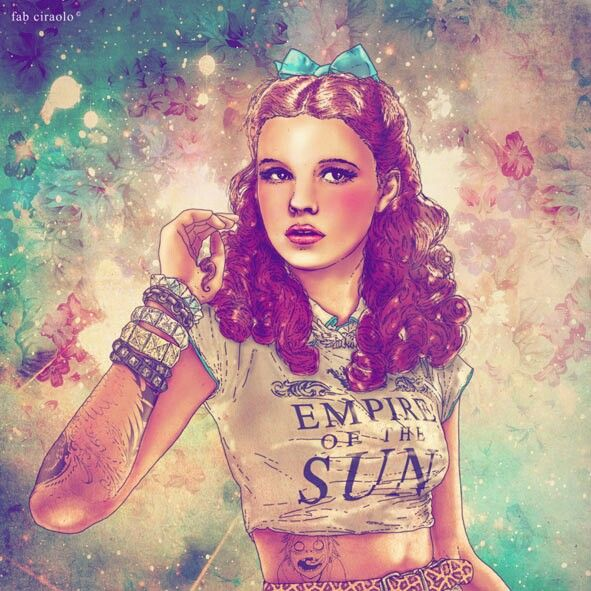 Dorothy wears Empire of the sun