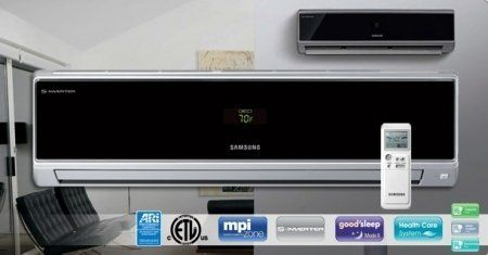 AQV18VBEX Vivace 18000 BTU Mini-Split Air Conditioner High Wall Heat Pump With Micro Ion by Samsung. $1895.00. With the MPI system never worry about your allergies acting up ever again