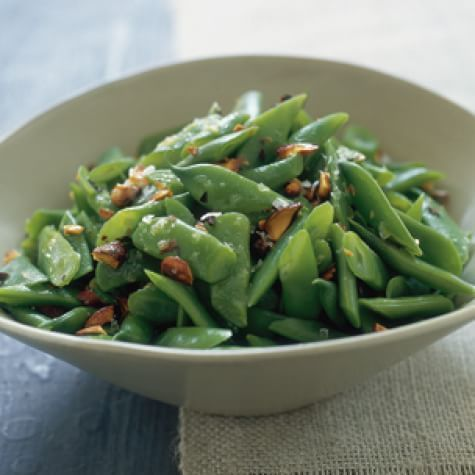 Romano Beans with Almonds | Williams Sonoma
