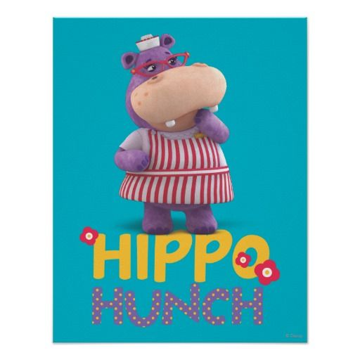 Hallie - Hippo Hunch. Regalos, Gifts. #poster