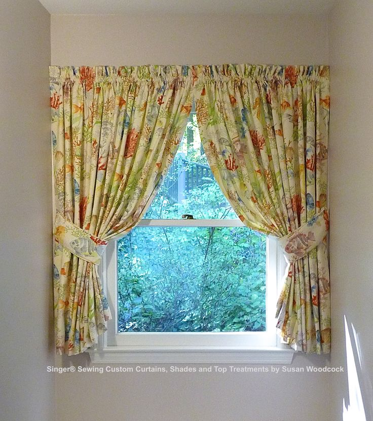 Dormer Window Curtains: 14 Best Singer(R) Sewing Custom Curtains, Shades And Top
