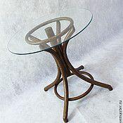 Для дома и интерьера ручной работы. Ярмарка Мастеров - ручная работа Журнальный столик коричневый. Handmade.