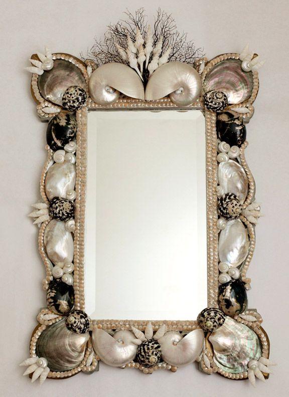 Mirror for the beach house