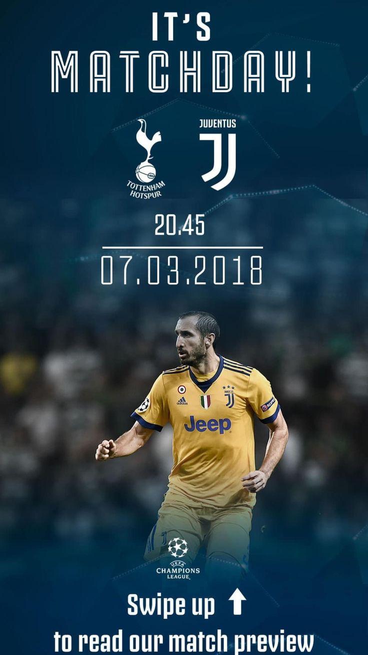 It's a MatchDay Tottenham vs Juventus UCL