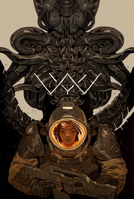 """Aliens: Defiance #1″ Variant Cover for Dark Horse Comics It's the 30th Anniversary of Aliens this year and I've been lucky enough to work on a lot of the franchises art over at Dark Horse this year...."