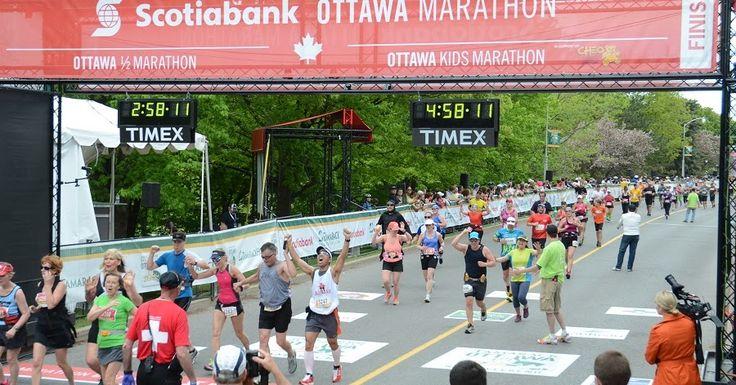 Calendário de corridas e maratonas em 2017 no Canadá #viagem #canada #viajar