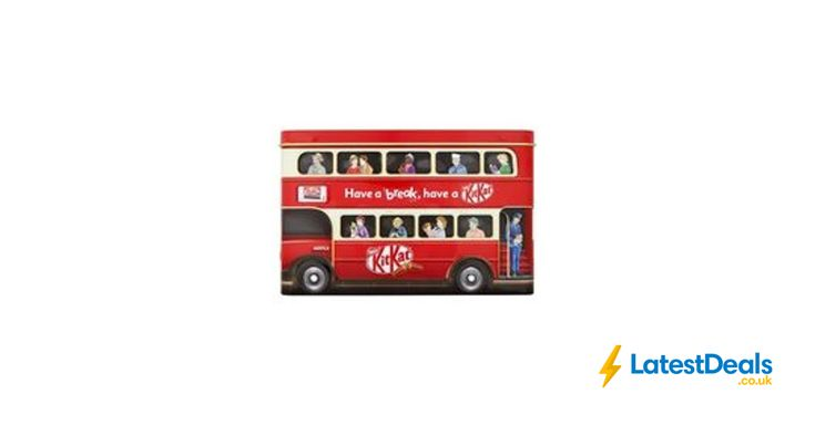 Kitkat Bus Tin 340G Free C&C, £5 at Superdrug