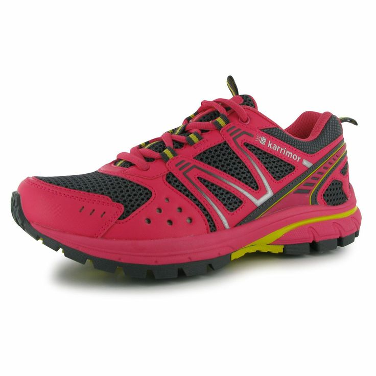 My new Karimore Pink Ladies Trail Running Trainers :D 50% off making them £25 from Sports Direct !