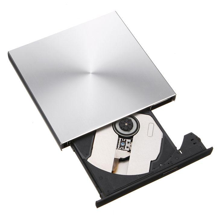 Portátil Externo Delgado USB 3.0 Pop-Up Grabador de DVD-RW / CD-RW Grabador Unidad óptica