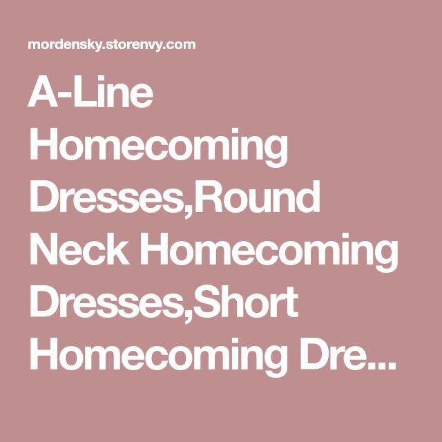 A-Line Homecoming Dresses,Round Neck Homecoming Dresses,Short Homecoming Dresses,Light Champagne Homecoming Dresses,463 from Morden Sky