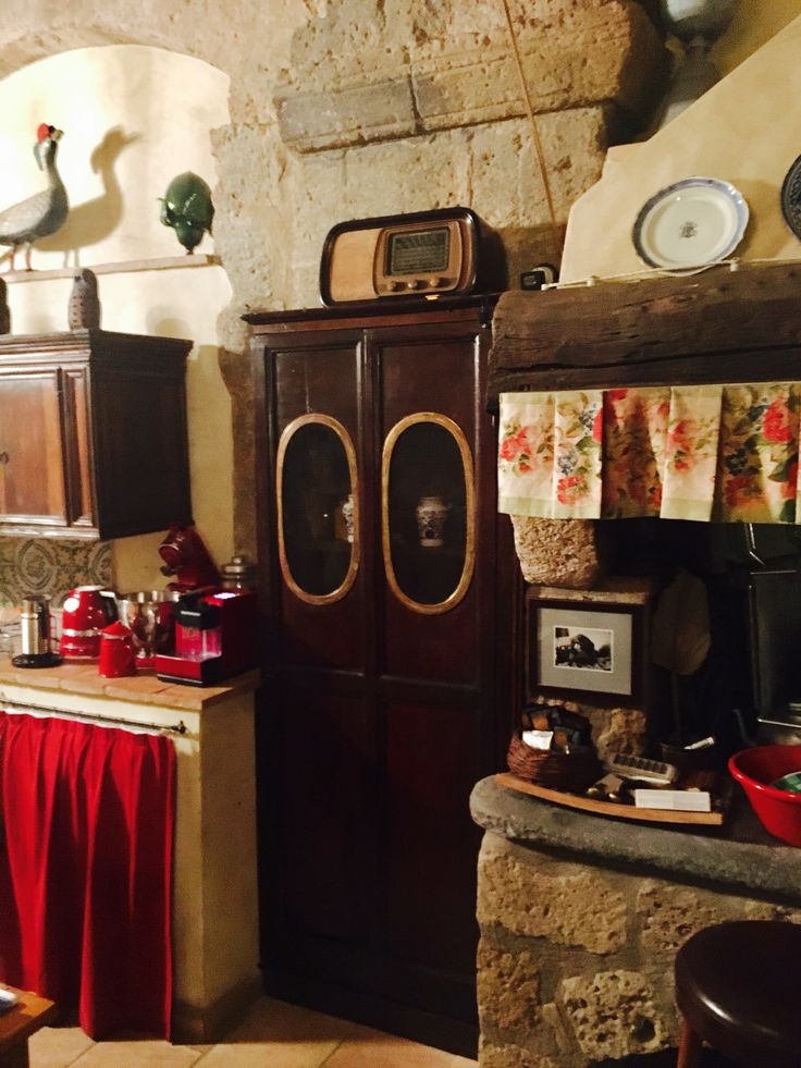 An old secret cabinet in the main kitchen