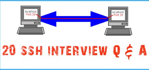 20 ssh Secure Shell Linux Interview Questions
