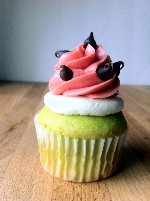 Watermelon Cupcakes - Attempt Two (This Time With Jelly) Recipe ...