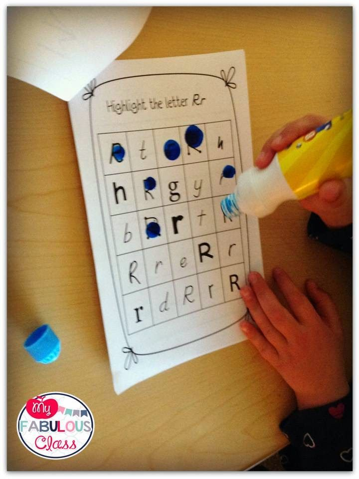 RTI letter and beginning sound books