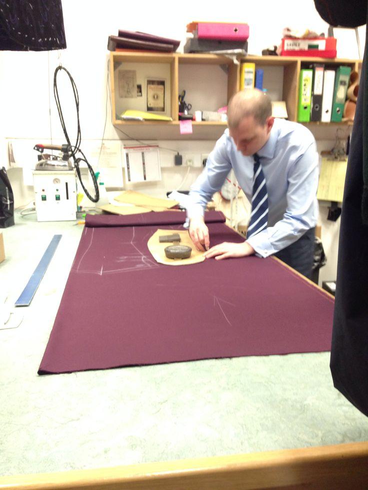 Dege & Skinner pattern cutter, Savile Row