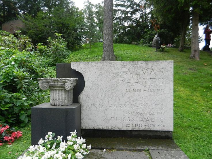 Architects' gravesites, the official guide