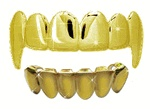 Cheap grillz Gold fang grill