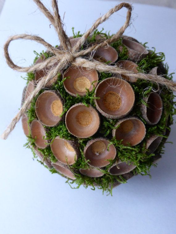 17 best images about dried acorn decorations on pinterest for Acorn decoration