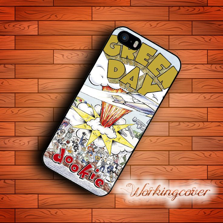 Capa Green Day Dookie New Fashion Case for iPhone 7 6S 6 5S SE 5 5C 4S 4 Plus Case Cover for iPod Touch 6 5 Case.