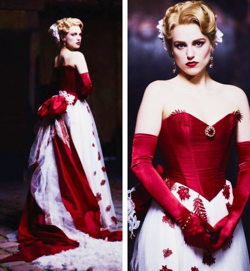 dracula tv series lucy red dress
