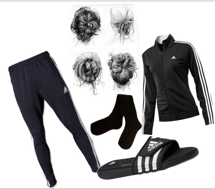 my perfect comfy cozy outfit creation adidas soccer pants