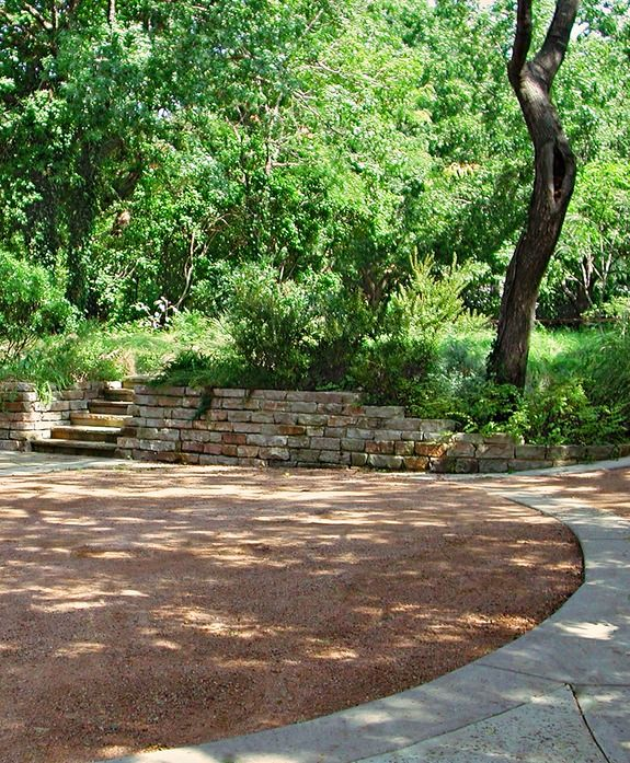 Iu0027ve Always Liked These Crushed Gravel Patio Areas Edged In Stone, Concrete,