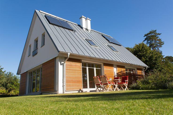 Romantische Umgebung, hochwertige und geschmackvolle Einrichtung - der Kamphof Usedom bietet exklusive Unterkünfte