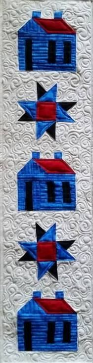 149 best ROW by ROW quilts images on Pinterest