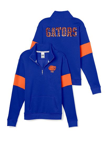 University of Florida Bling Half-Zip Pullover PINK