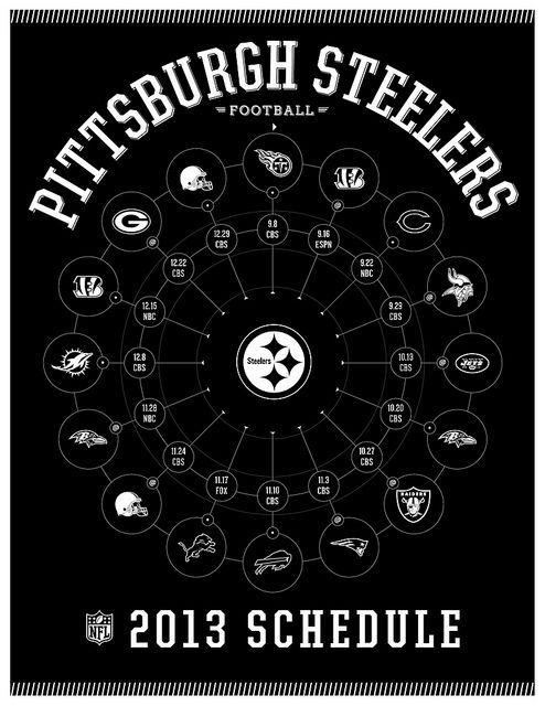 Pittsburgh Steelers 2013 Schedule