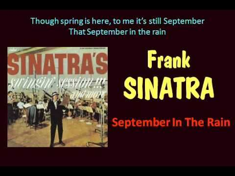 Dancing at the New Year's Party for 1961 to see in 1962 would have probably included playing some Frank Sinatra - his new LP Swingin Session (with Nelson Riddle) had just released - here's 'September In The Rain' with Frank and Nelson off that LP