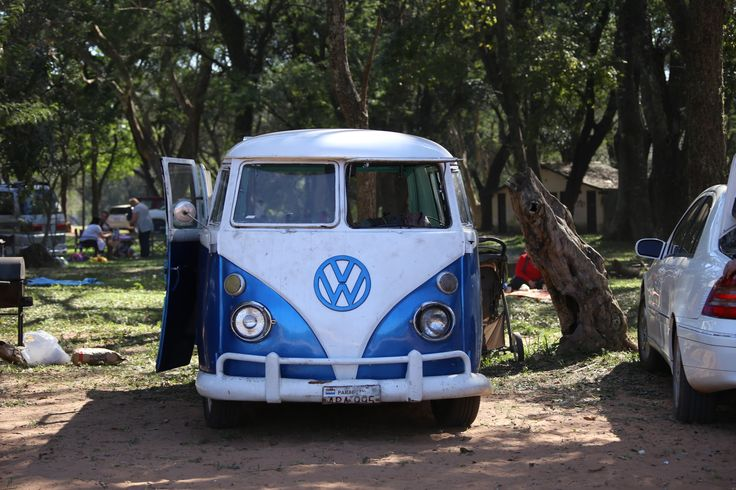 Combi in Asuncion, Paraguay.