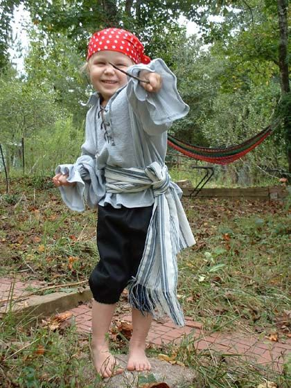 Pirate Renaissance Sash Belt Childs  Ivory & by fwcreations4All