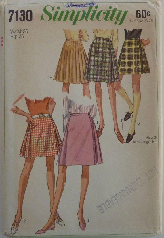 Amazing Kilt Pattern Sewing Gift - Easy Scarf Knitting Patterns ...