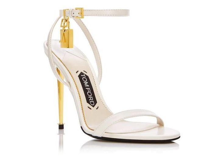 Tom ford PADLOCK NAKED STRAP SANDAL