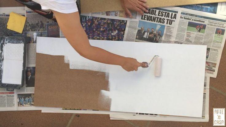 Pintar madera con selladora antes de pintar con esmalte
