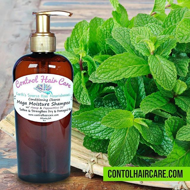🌿Mega Moisture Shampoo with Peppermint Oil Will Stimulate growth by Circulating Blood Flow to the Hair Follicles  For cell production in creating new hair strands. 🌟🌱🌟🌱🌟🌱🌟🌱🌟🌱 . 💫Mega Moisture Shampoo 💻controlhaircare.com . Castile PepperMint Soap 📌Detergent Free 📌SLS Free 📌Sulfate Free 📌Chemical Free Shampoo ⤵⤵⤵⤵⤵⤵⤵⤵⤵⤵ Plus #ConditioningShampoo 🌰#HempOil will penetrate the hair shaft for deep conditioning and heal damaged hair . . #tierragoesgreen #Controlhaircare…