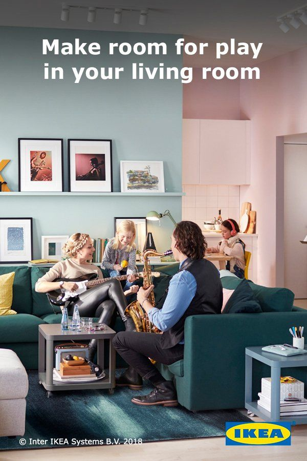 Your living room is the place where friends and family can
