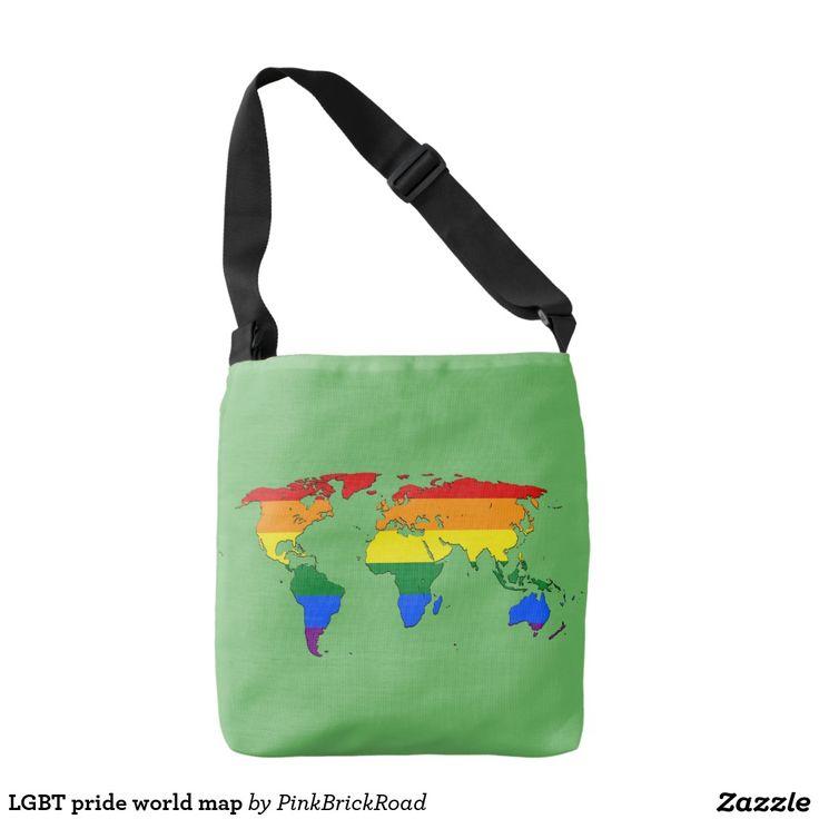 LGBT pride world map Tote Bag