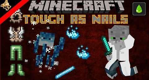 Tough As Nails Mod is a survival mod that aims to increase difficulties through realistic features such as thirst and body temperature. In addition, there are other features that tie into it like a seasonal system with changing grass/foliage colors. Temperature shifting for snow in biomes is an...