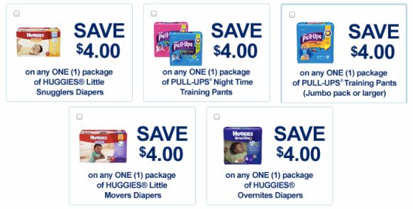 *HOT* $4/1 Huggies Diapers & Pull-Ups Coupons – Hip2Save
