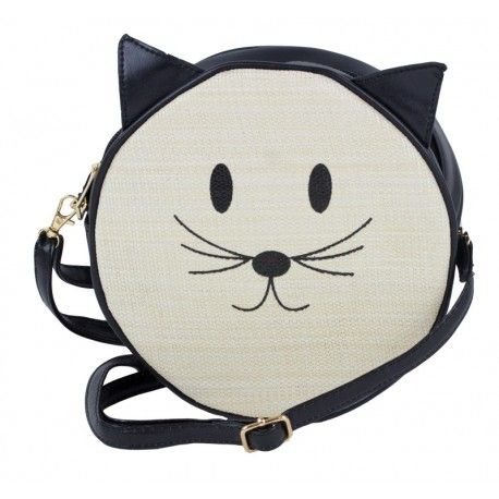 Cute Kitty Face Round Handbag #wholesale #handbag #kitty
