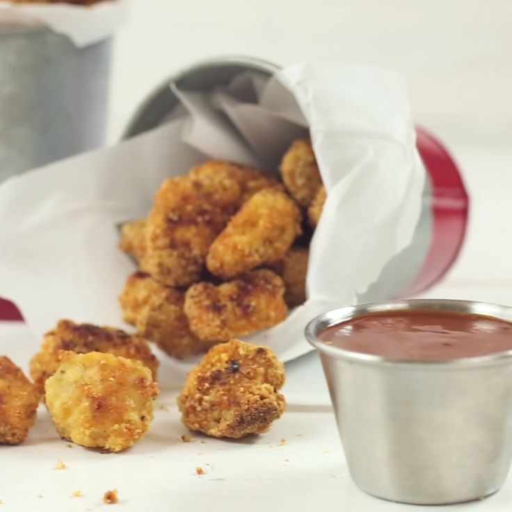 How to make a healthier version of Popcorn Chicken!