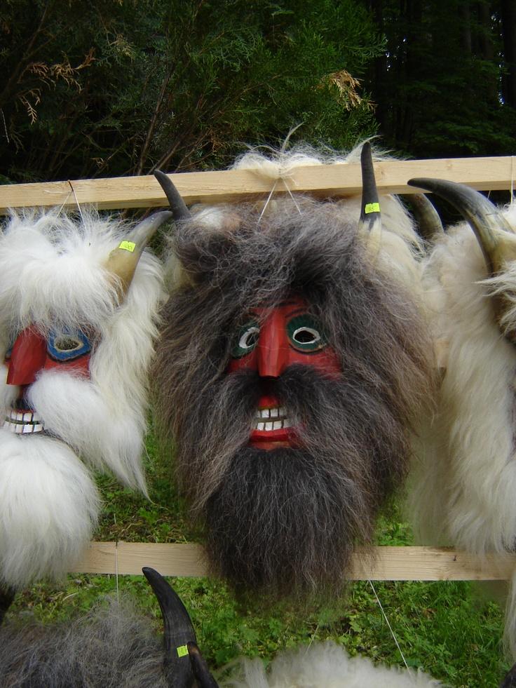Traditional Romanian Mask