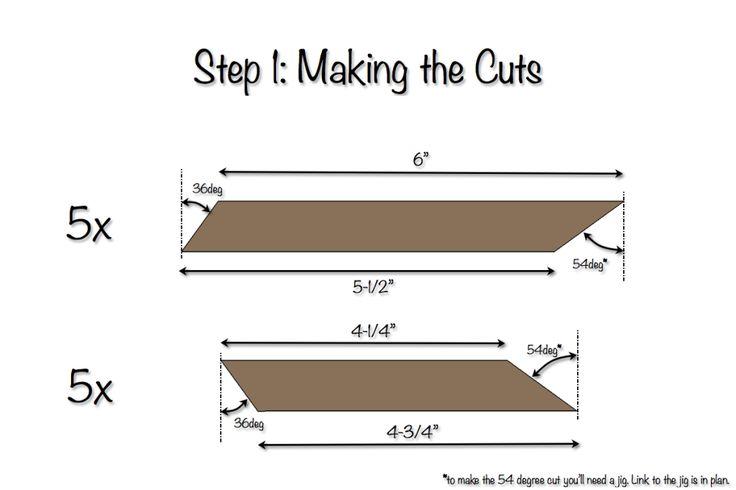 DIY Star Decor | Free Plans | Step 1