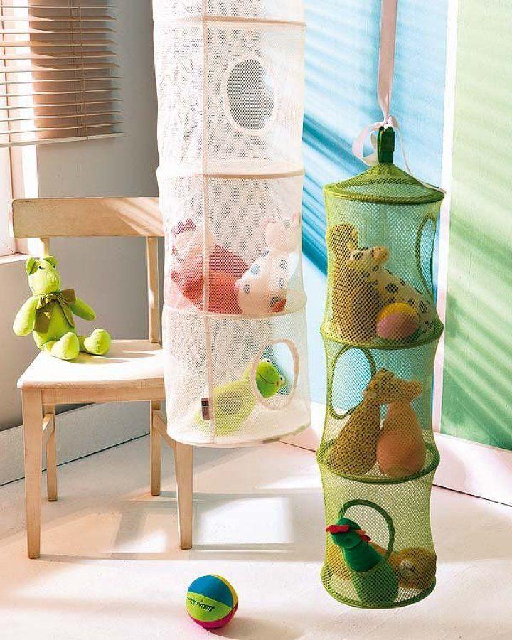 Cesta para juguetes en dormitorio ni os decoraci n - Cesta para guardar juguetes ...