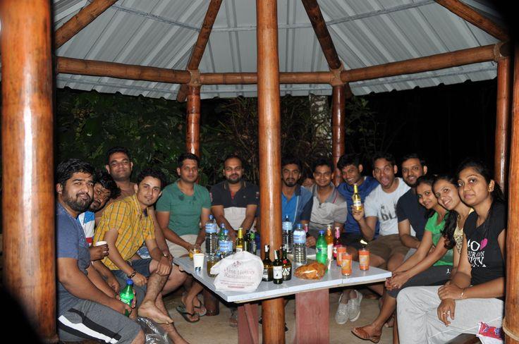 The 'Australian' team of Kenscio, in Kerala!👫👬👭🏝️⛵🌴 #Fun #OfficeTrip #TeamOuting #KeralaTrip
