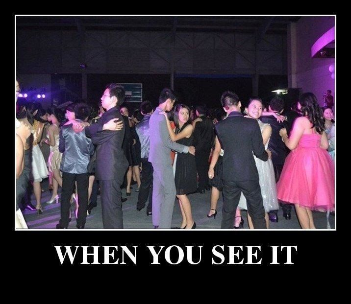 When you see it - School dance - http://jokideo.com/when-you-see-it-school-dance/