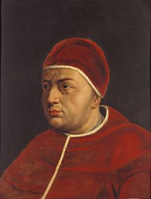 Leo X  Papacy began	9 March 1513 (elected)  11 March 1513 (proclaimed)  Papacy ended	1 December 1521  Predecessor	Julius II  Successor	Adrian VI  Orders  Consecration	17 March 1513  by Raffaele Sansone Riario  Created Cardinal	26 March 1492  Personal details  Birth name	Giovanni di Lorenzo de' Medici[1]  Born	11 December 1475  Florence, Republic of Florence  Died	1 December 1521 (aged 45)  Rome, Papal States