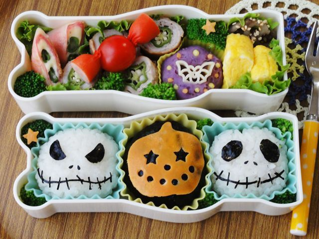 nightmare Halloween #bento